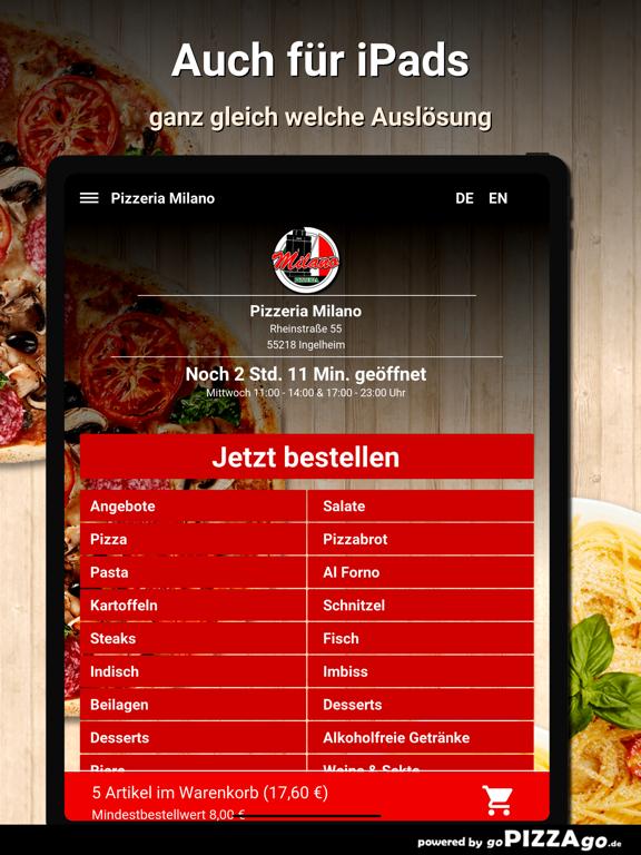 Pizzeria Milano Ingelheim screenshot 7