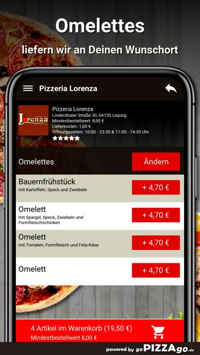 Pizzeria Lorenza Leipzig screenshot 6
