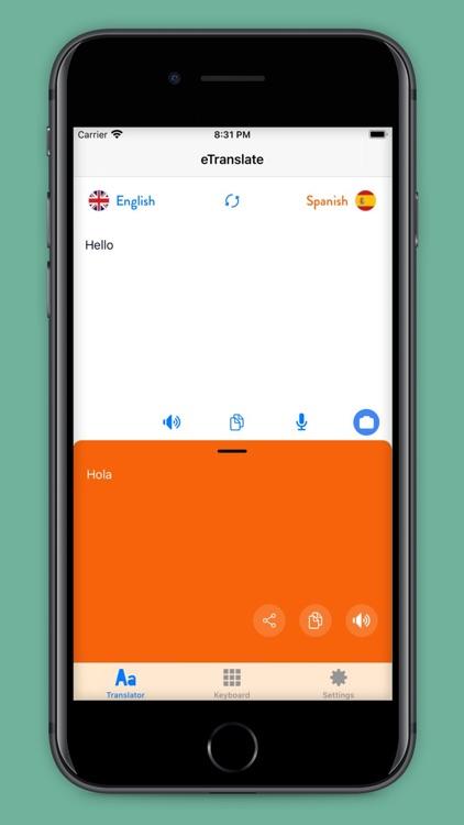 eTranslate - Easy Translate screenshot-3