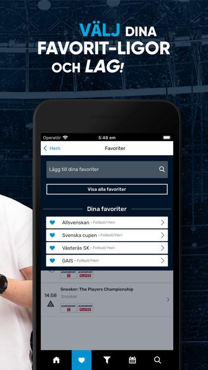 TVmatchen.nu - Sport på TV