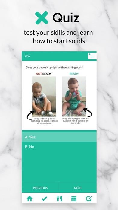BLW Meals: How to Start Solids Screenshot