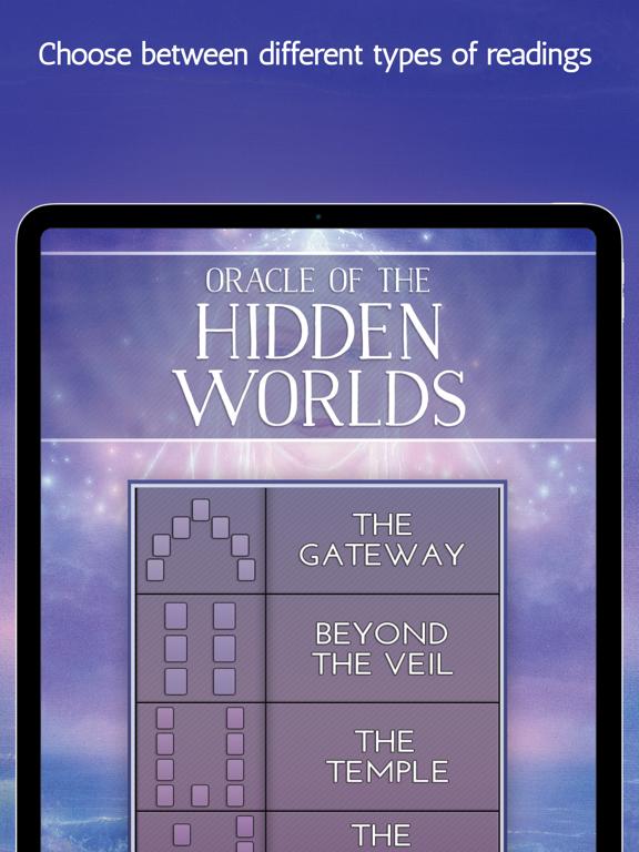 Ipad Screen Shot Oracle of the Hidden Worlds 4