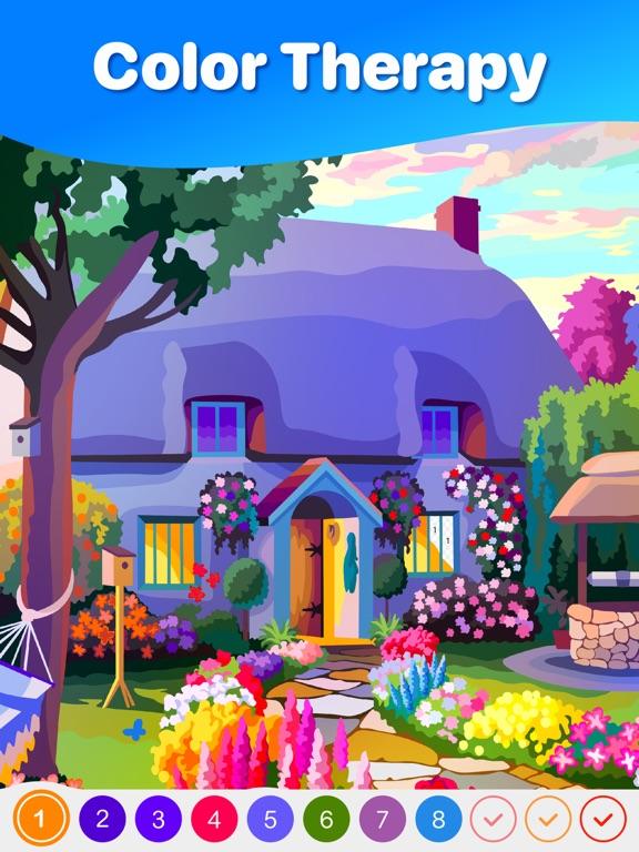 Hey Color: 数字で塗り絵, ぬりえ 大人 色塗りのおすすめ画像1