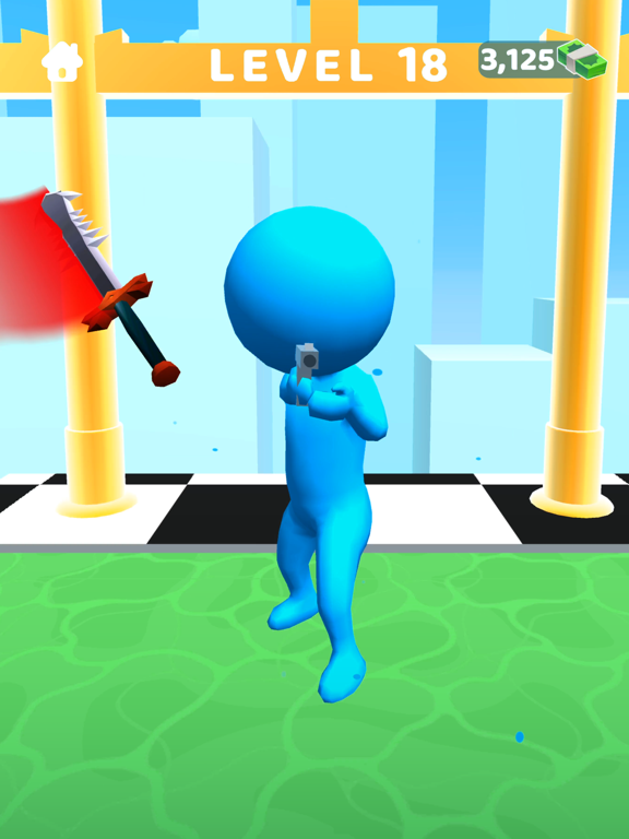 iPad Image of Sword Play! Ninja Slice Runner