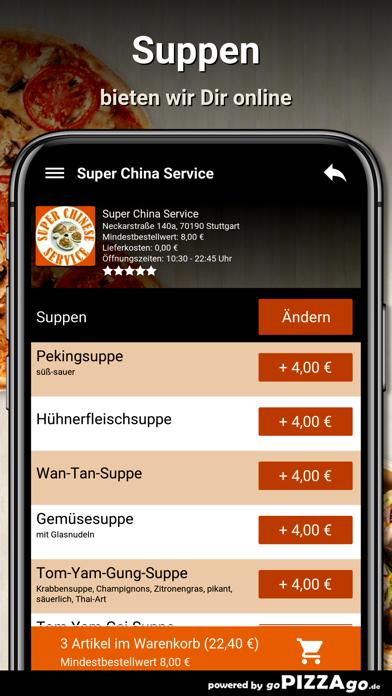 Super China Service Stuttgart screenshot 5