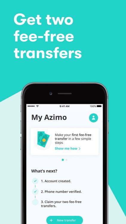 Azimo - Global Money Transfers screenshot-5