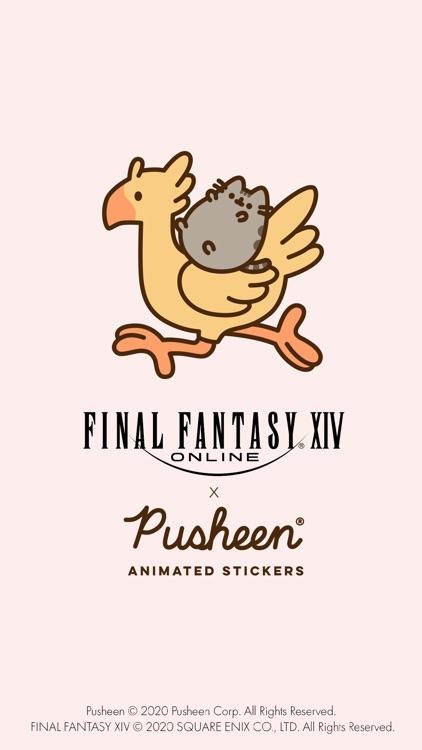FINAL FANTASY XIV x Pusheen