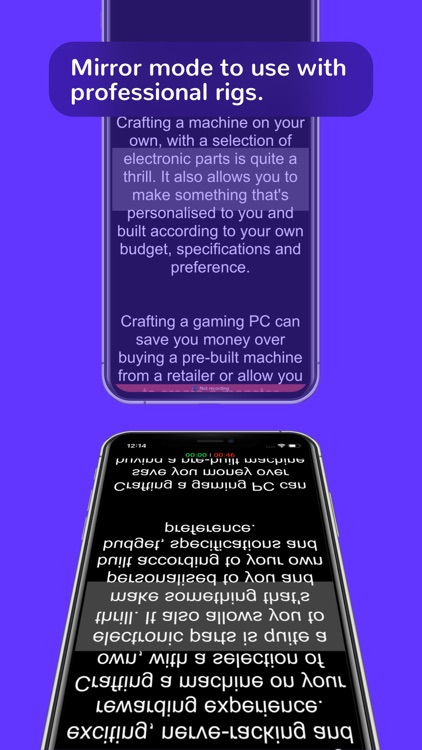 Teleprompter for video makers screenshot-6