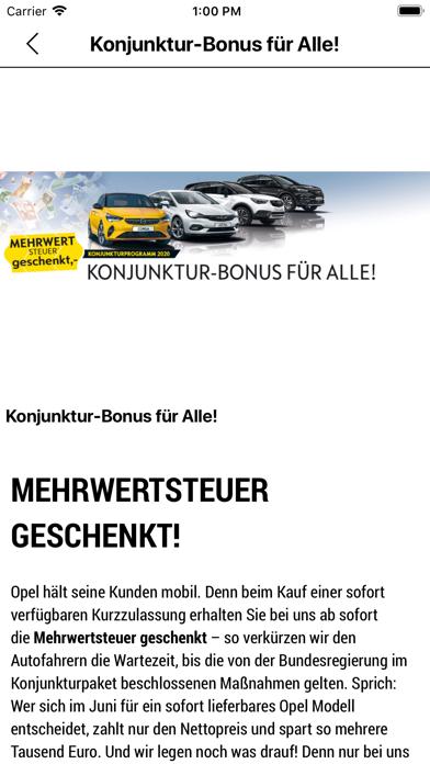 Autohaus Kropf GmbH screenshot 3
