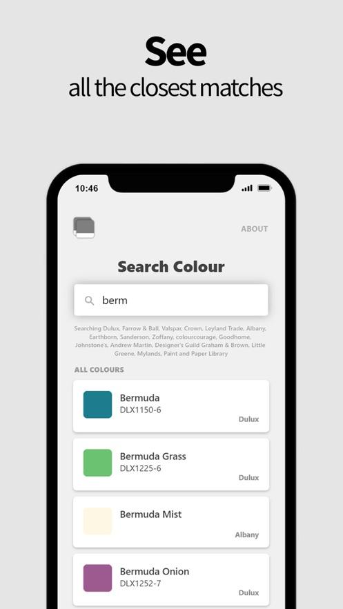 Match My Paint Colour手机开发app