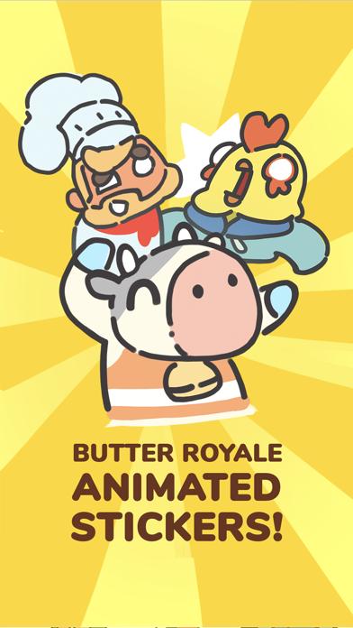 Butter Royale Stickers screenshot 1
