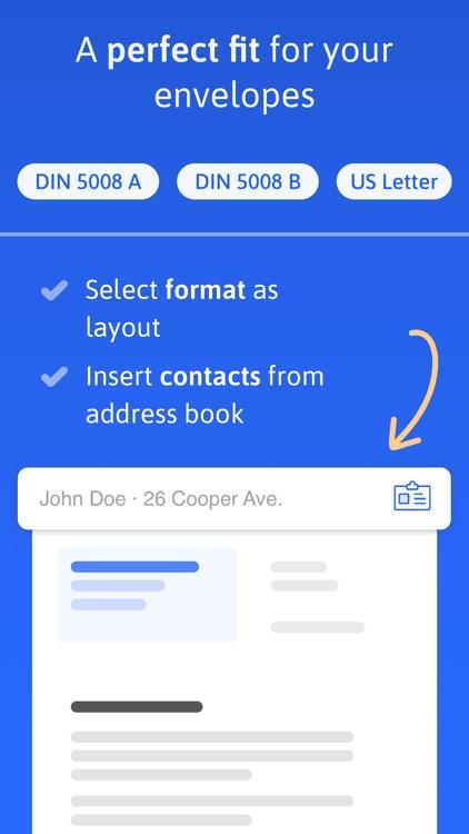 EasyLetter - Create letters screenshot-4