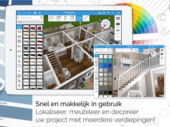 Home Design 3D GOLD iPad app afbeelding 2