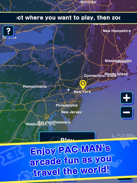 PAC-MAN GEO screenshot 8