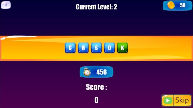 Word Scramble: word shuffle screenshot-4