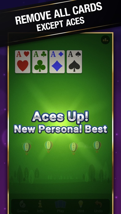 Aces Up Solitaire · screenshot1