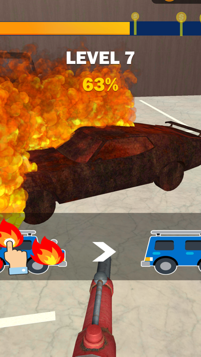 Fireman Rush 3D screenshot 2