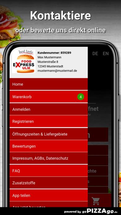 Food Express Ulm Ulm screenshot 3