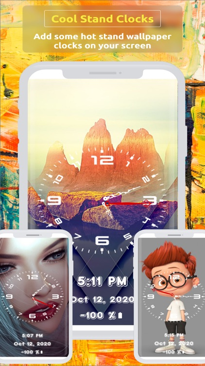 Analog Clock ~ Stand Face Time screenshot-7