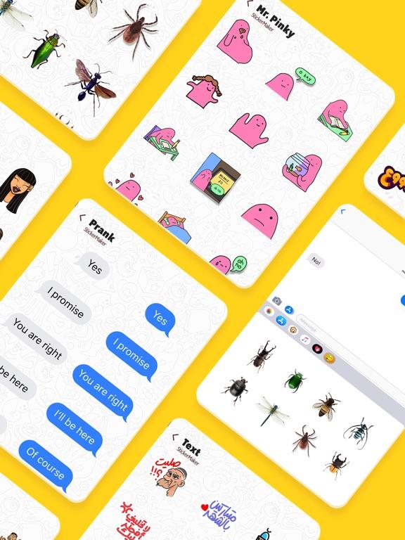 Stickers Funny of Meme & Emoji screenshot 16
