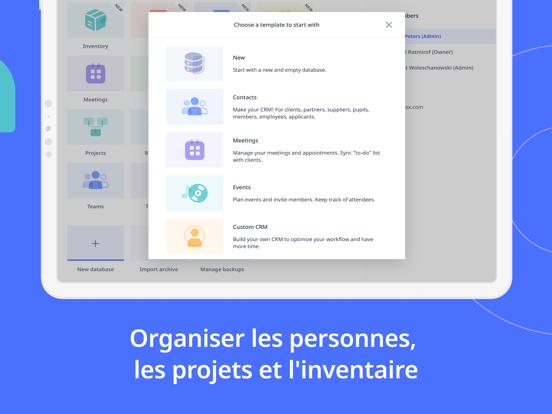 Screenshot #5 pour Ninox Database for iPad
