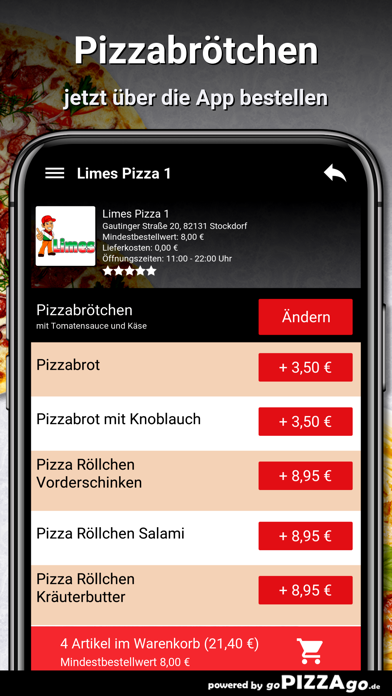 Limes Pizza 1 Stockdorf screenshot 5