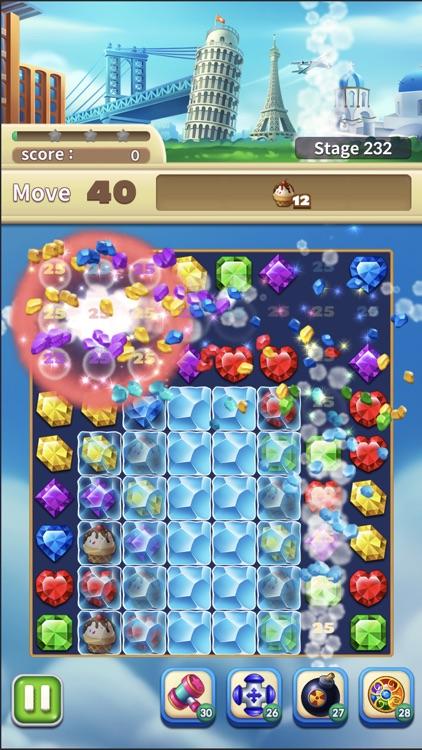 Jewels World Match 3 Puzzle screenshot-6