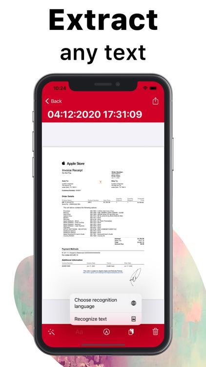 ScanPlus Pro - Scan Documents screenshot-4