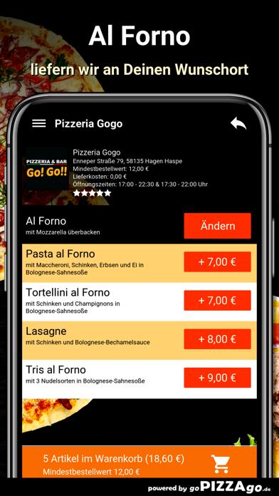 Pizzeria Gogo Hagen Haspe screenshot 6