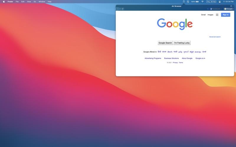 Air Browser скриншот программы 1
