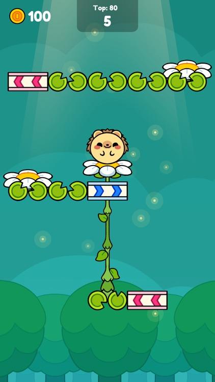 Monkey Roll: Kawaii Climb screenshot-7