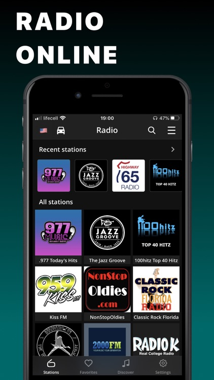 FM Radio Tuner live Player app