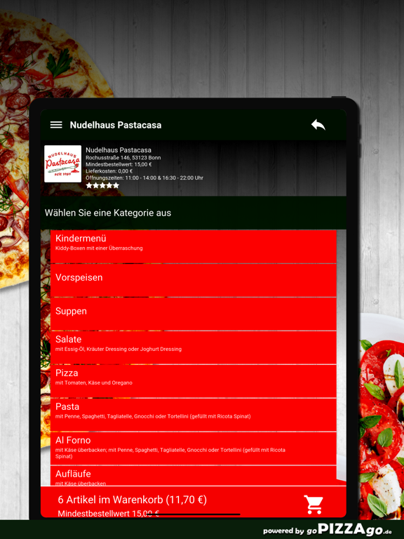 Nudelhaus Pastacasa Bonn screenshot 8