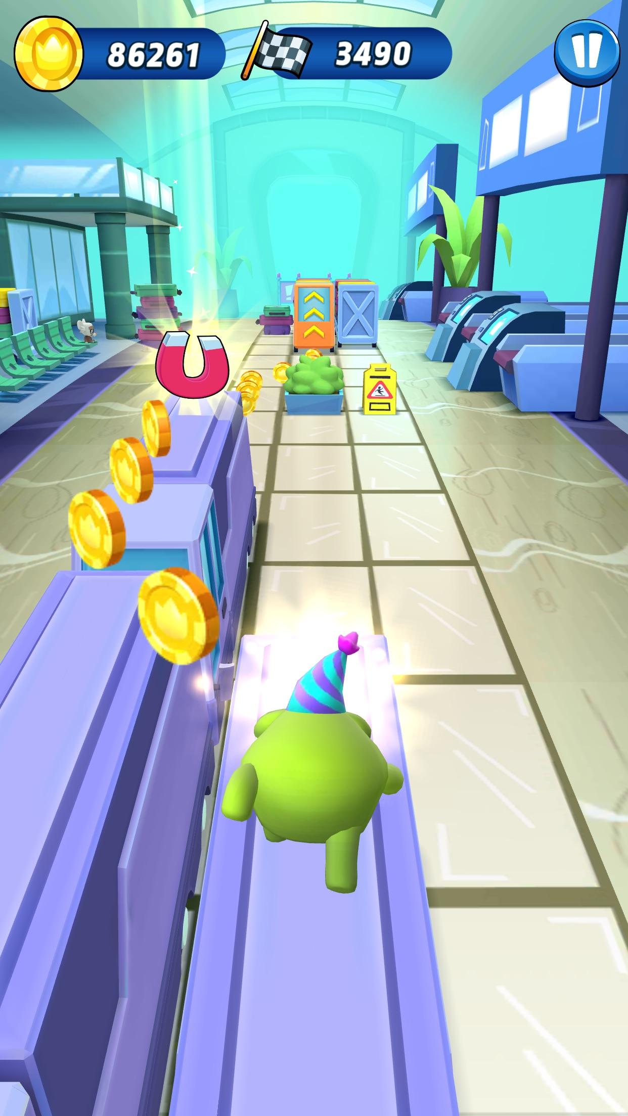 Screenshot do app Om Nom: Run