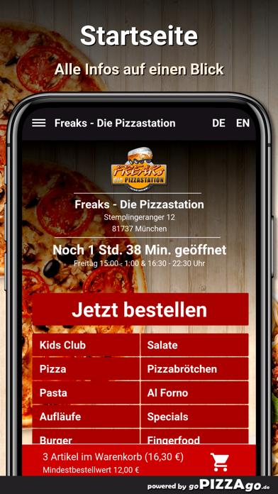 Freaks Pizza München screenshot 2