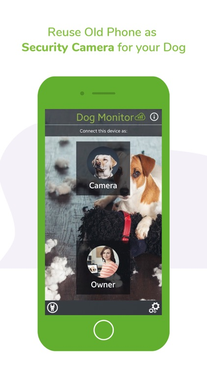 Surveillance Pet & Dog Monitor