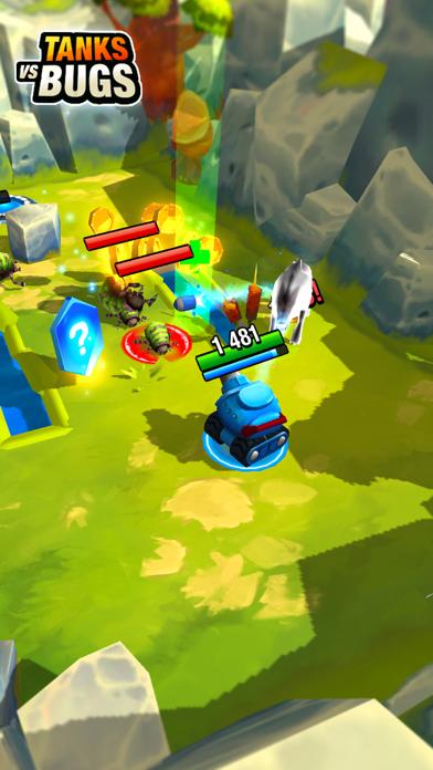 Tanks vs Bugsのおすすめ画像1