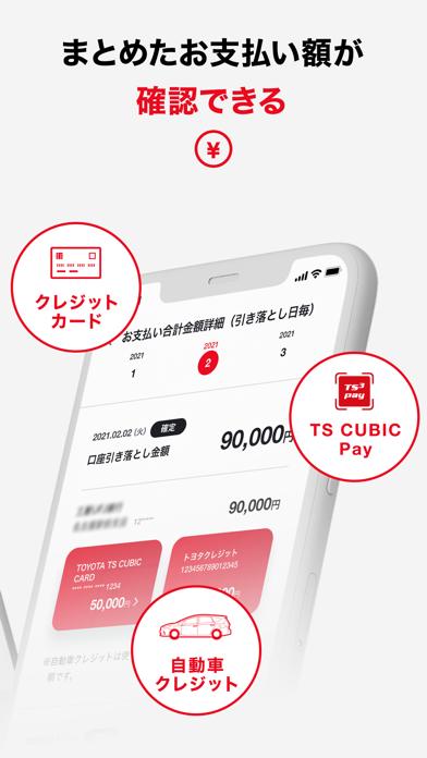 TS CUBIC アプリ ScreenShot1
