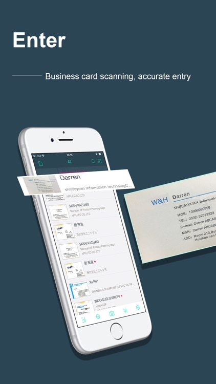 FoxCard -Business card scanner