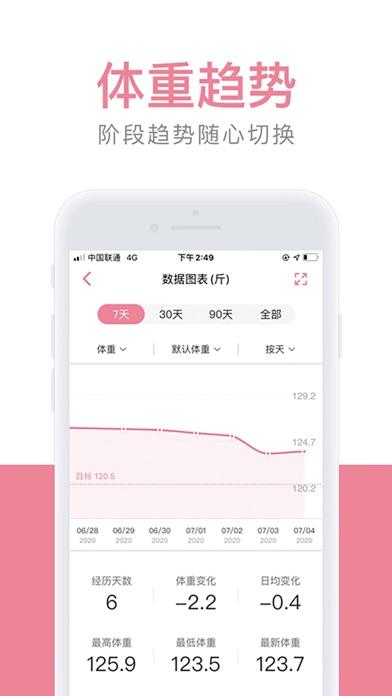 Screenshot #2 pour 体重小本