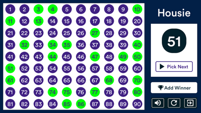 Housie - Indian Bingo game screenshot 1