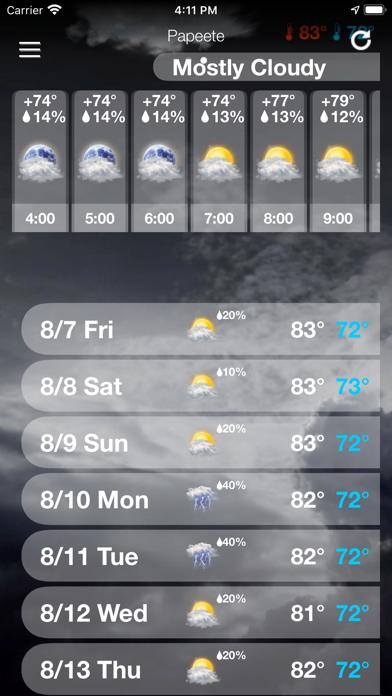 天気予報  .のおすすめ画像6