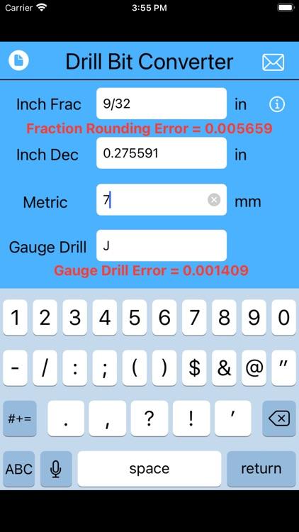 Drill Bit Converter screenshot-4