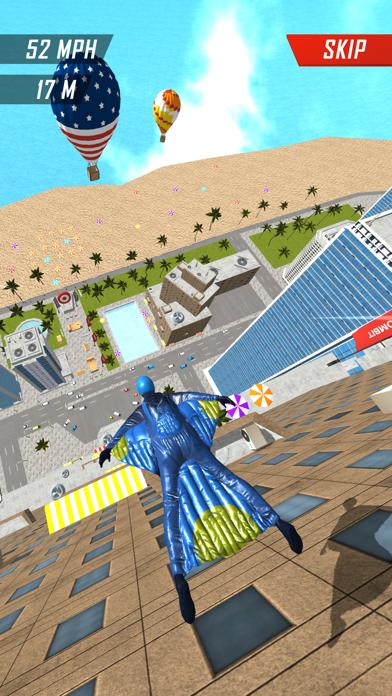 Base Jump Wing Suit Flying screenshot 5