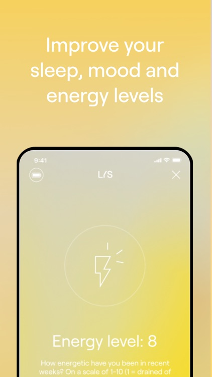LYS: Live healthier with light