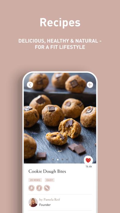 Pam Food & Fitness Screenshot