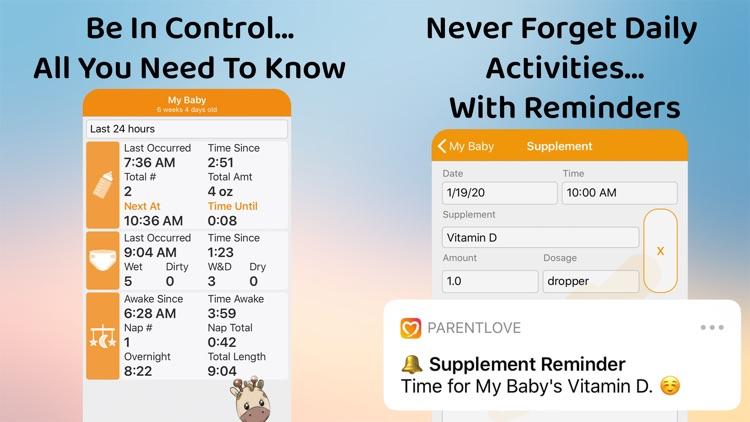 ParentLove Baby Tracker