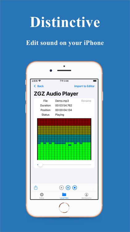 ZGZ Audio Editor