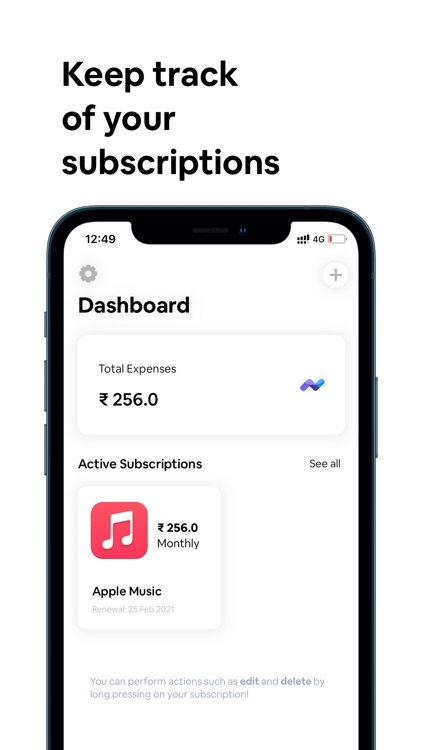 Dinero: Subscription Manager
