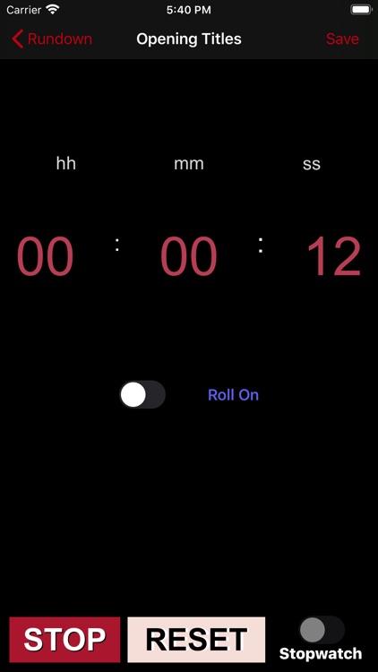 TVProd Timer Pro screenshot-6